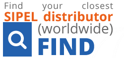 FIND your closest SIPEL distributor (worldwide)